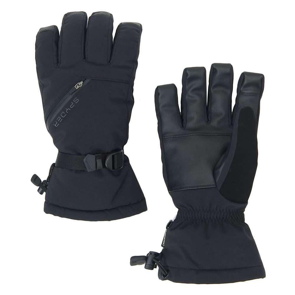 スパイダー Spyder メンズ スキー・スノーボード グローブ【Vital 3 in 1 GTX Ski Glove】Black / Black / Black