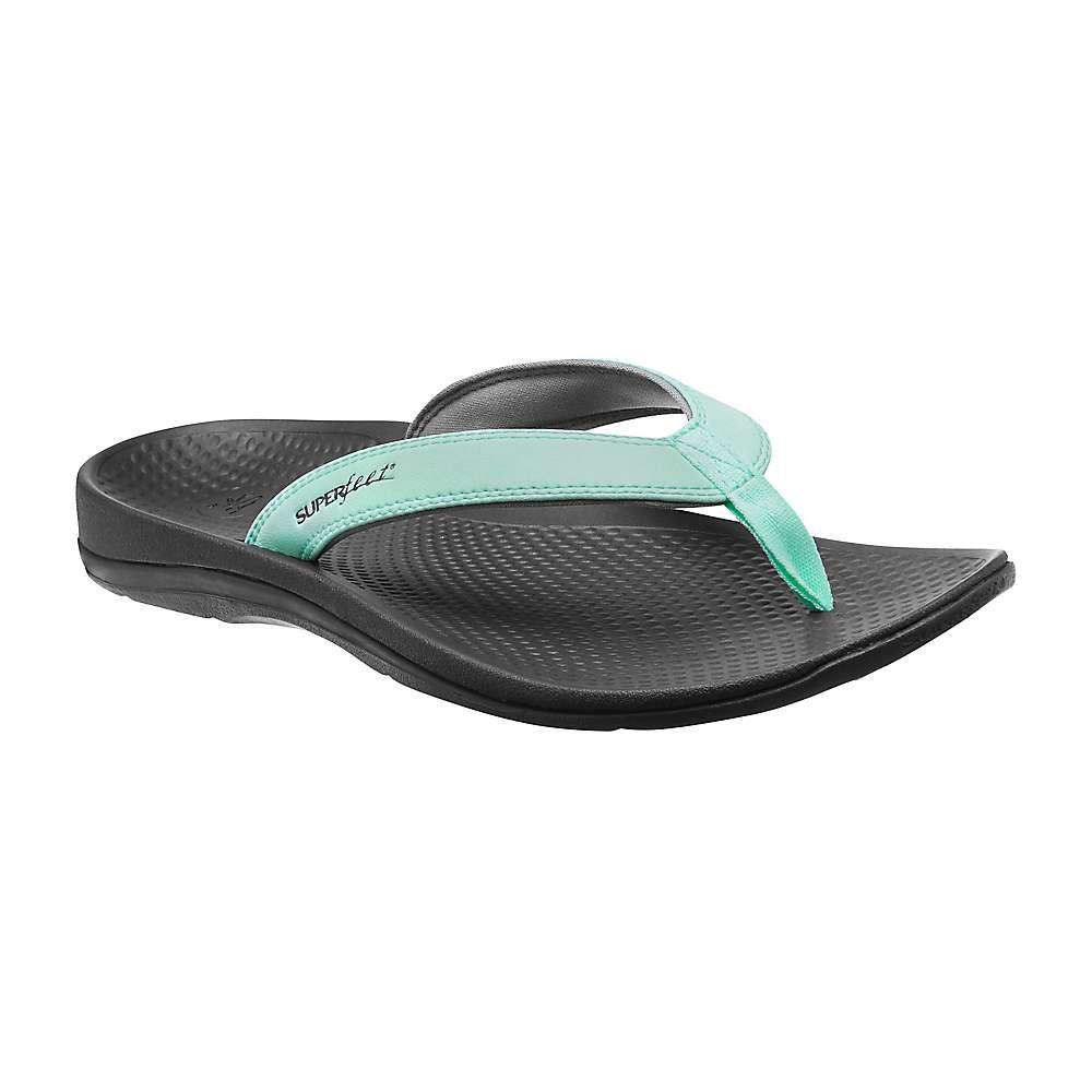 スーパーフィート Superfeet レディース シューズ・靴 ビーチサンダル【Outside 2 Sandal】Yucca / Glacier Gray