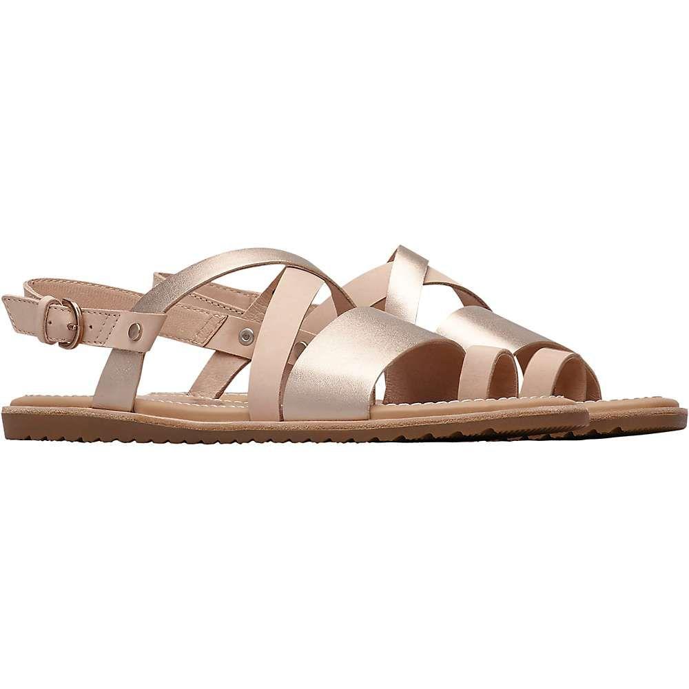 ソレル Sorel レディース シューズ・靴 サンダル・ミュール【Ella Criss Cross Sandal】Natural Tan