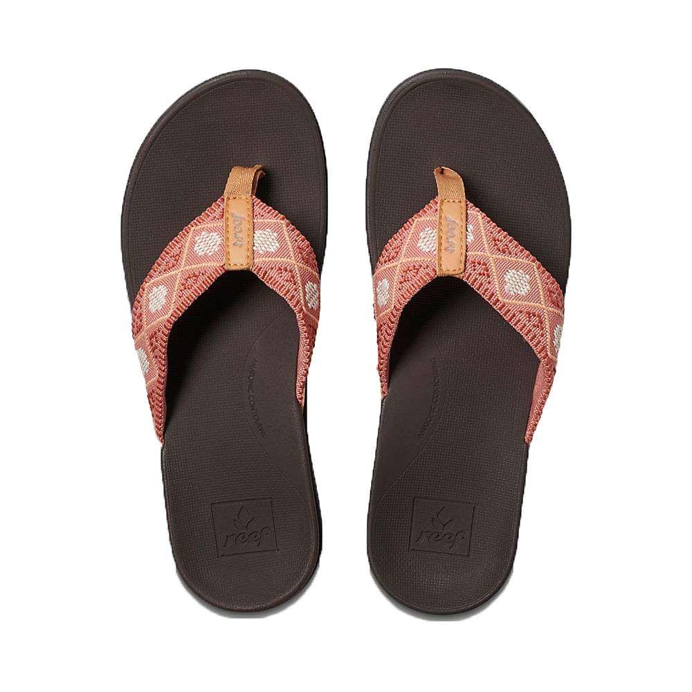 リーフ Reef レディース シューズ・靴 ビーチサンダル【Ortho-Bounce Woven Sandal】Dusty Coral