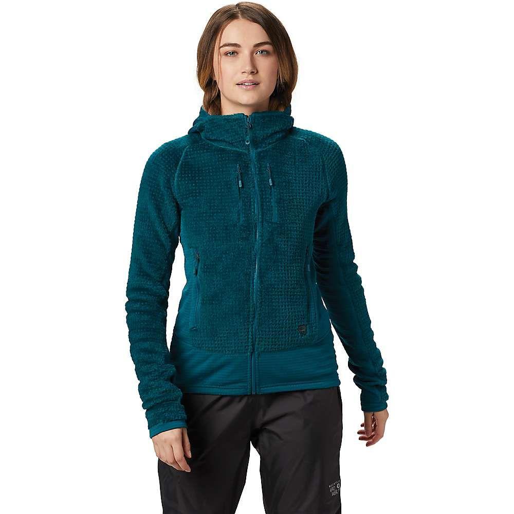 マウンテンハードウェア Mountain Hardwear レディース スキー・スノーボード アウター【Monkey Woman Grid Hooded Jacket】Dive
