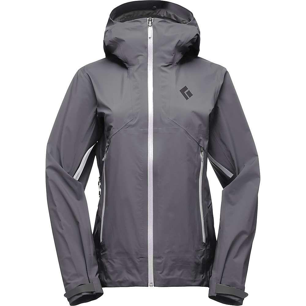 ブラックダイヤモンド Black Diamond レディース スキー・スノーボード アウター【Helio Active Shell Jacket】Slate