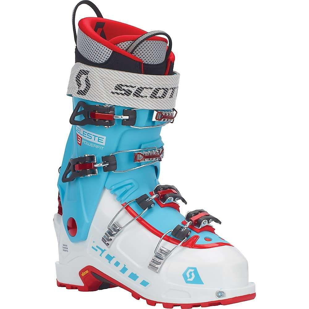 スコット Scott USA レディース スキー・スノーボード シューズ・靴【Celeste III Ski Boot】White / Bermuda Blue