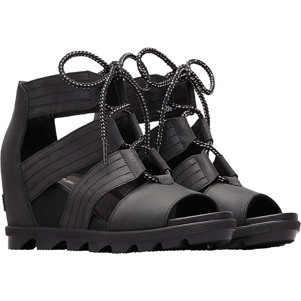 ソレル Sorel レディース シューズ・靴 サンダル・ミュール【Joanie II Lace Sandal】Black