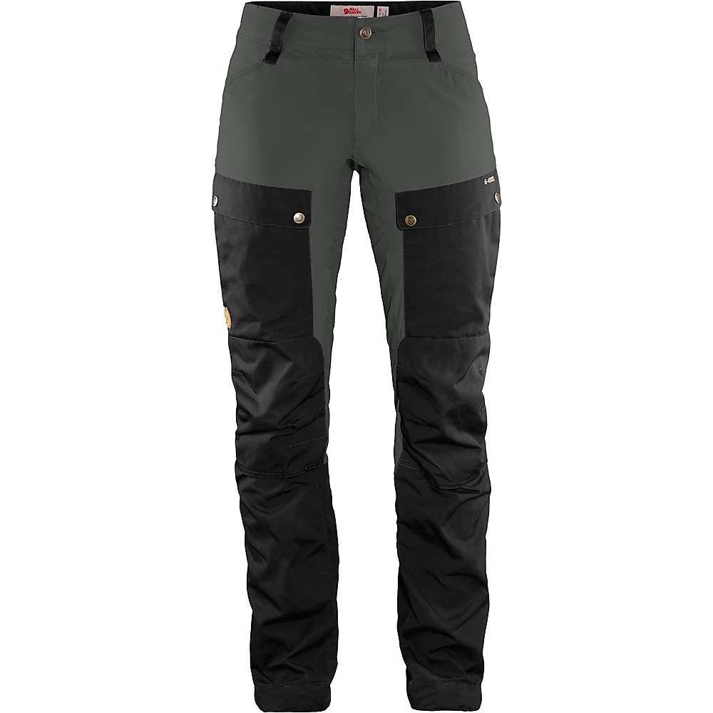 フェールラーベン Fjallraven レディース ハイキング・登山 ボトムス・パンツ【Keb Trouser】Black-Stone Grey