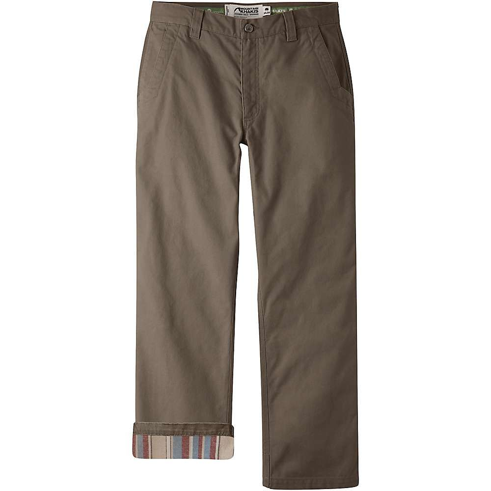 マウンテンカーキス Mountain Khakis メンズ ボトムス・パンツ【Flannel Original Mountain Relaxed Fit Pant】Terra