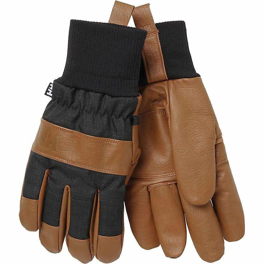 ヘリーハンセン Helly Hansen メンズ スキー・スノーボード グローブ【Dawn Patrol Glove】Cinnamon / Graphite Blue