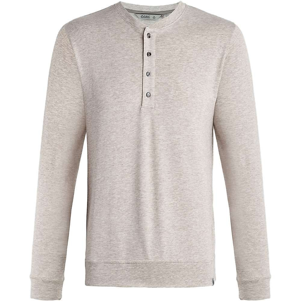 タスク Tasc Performance メンズ トップス【Tasc Legacy Henley LS Top】Crater Heather