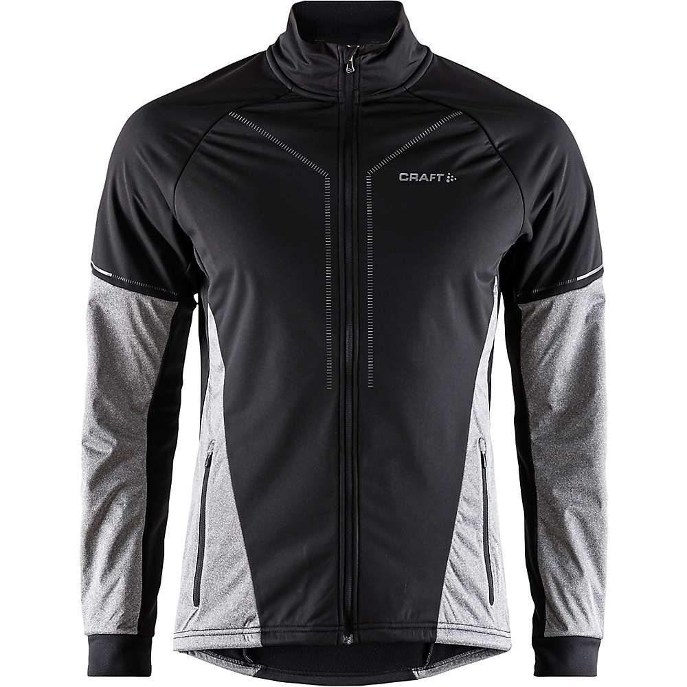 クラフト Craft Sportswear メンズ ランニング・ウォーキング アウター【Craft Storm 2.0 Jacket】Black / Dark Grey Melange