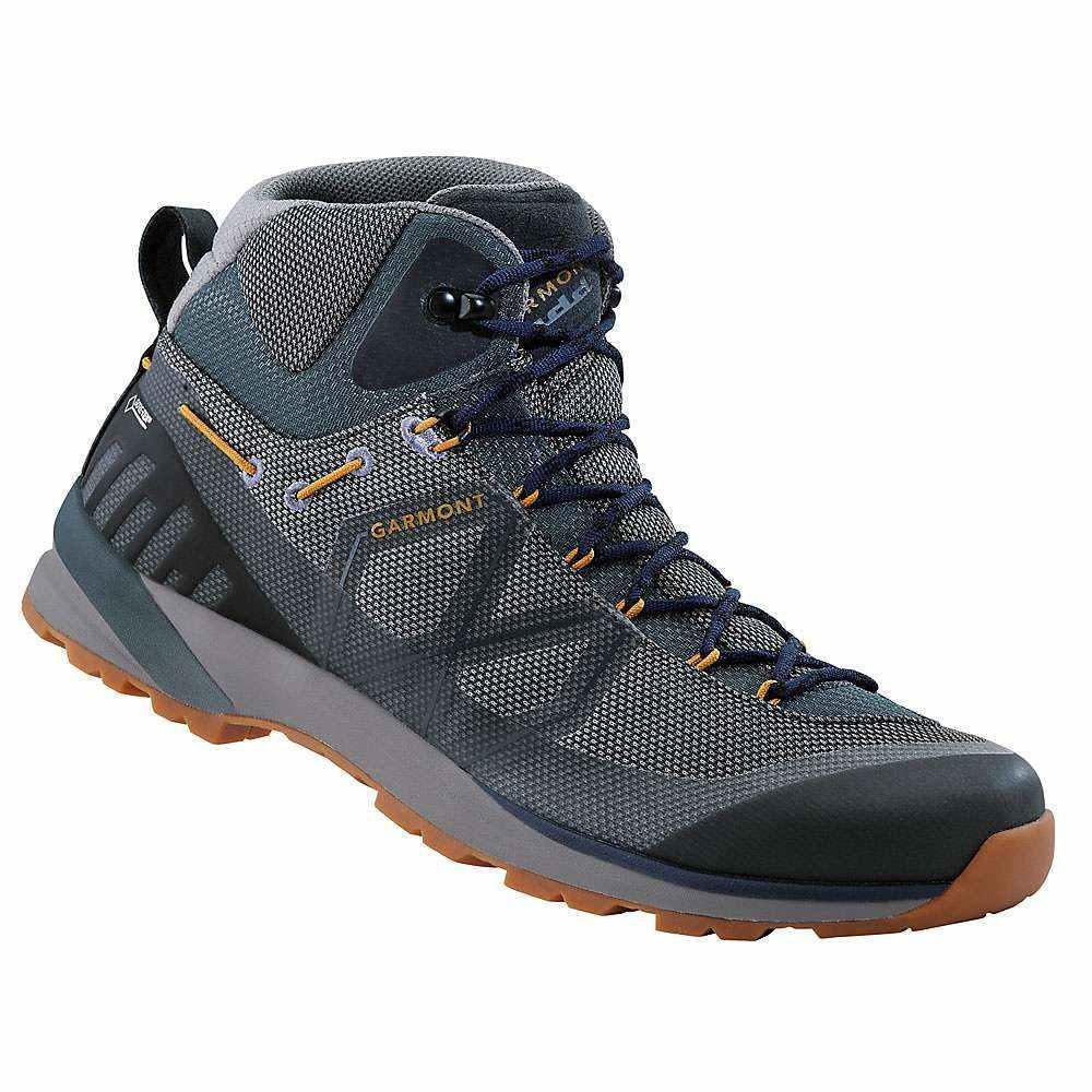 ガルモント Garmont メンズ ハイキング・登山 シューズ・靴【Karakum Mid GTX Shoe】Blue / Grey