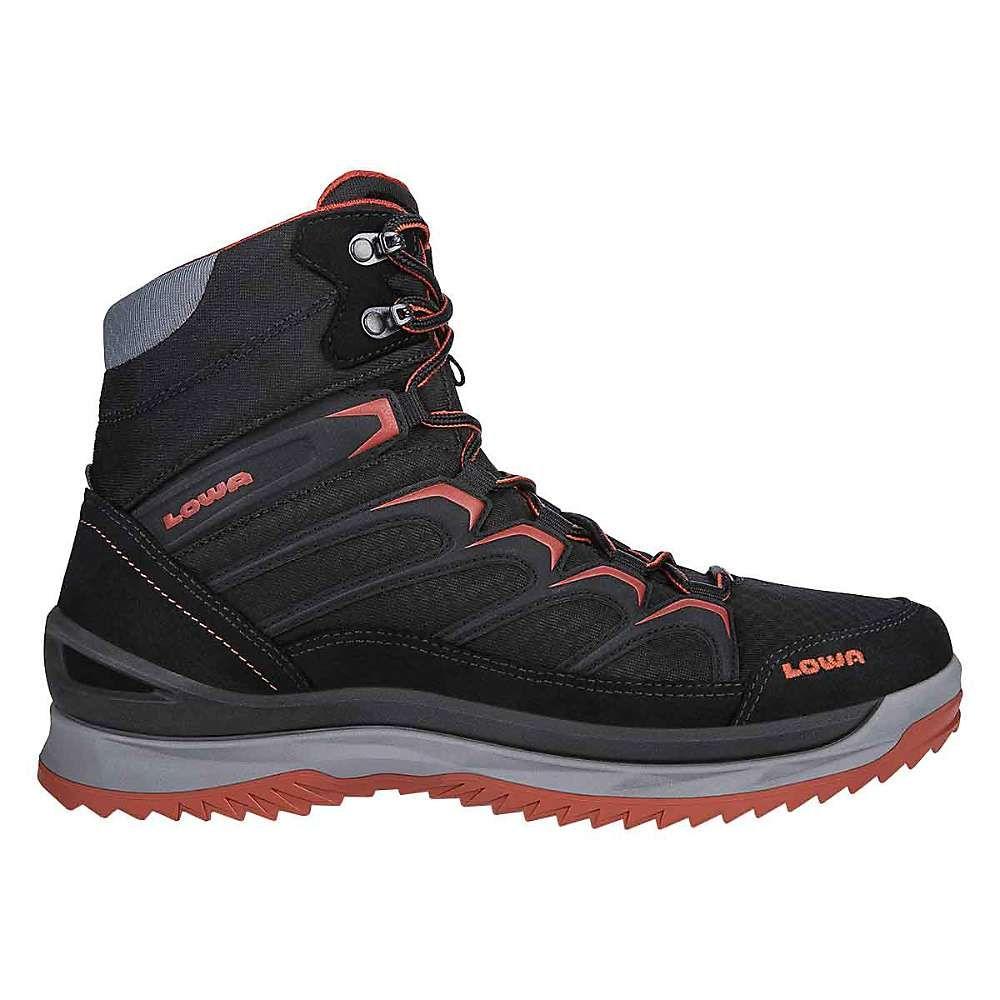 ローバー Lowa Boots メンズ ハイキング・登山 シューズ・靴【Lowa Innox Ice GTX Mid Boot】Black/Terracotta
