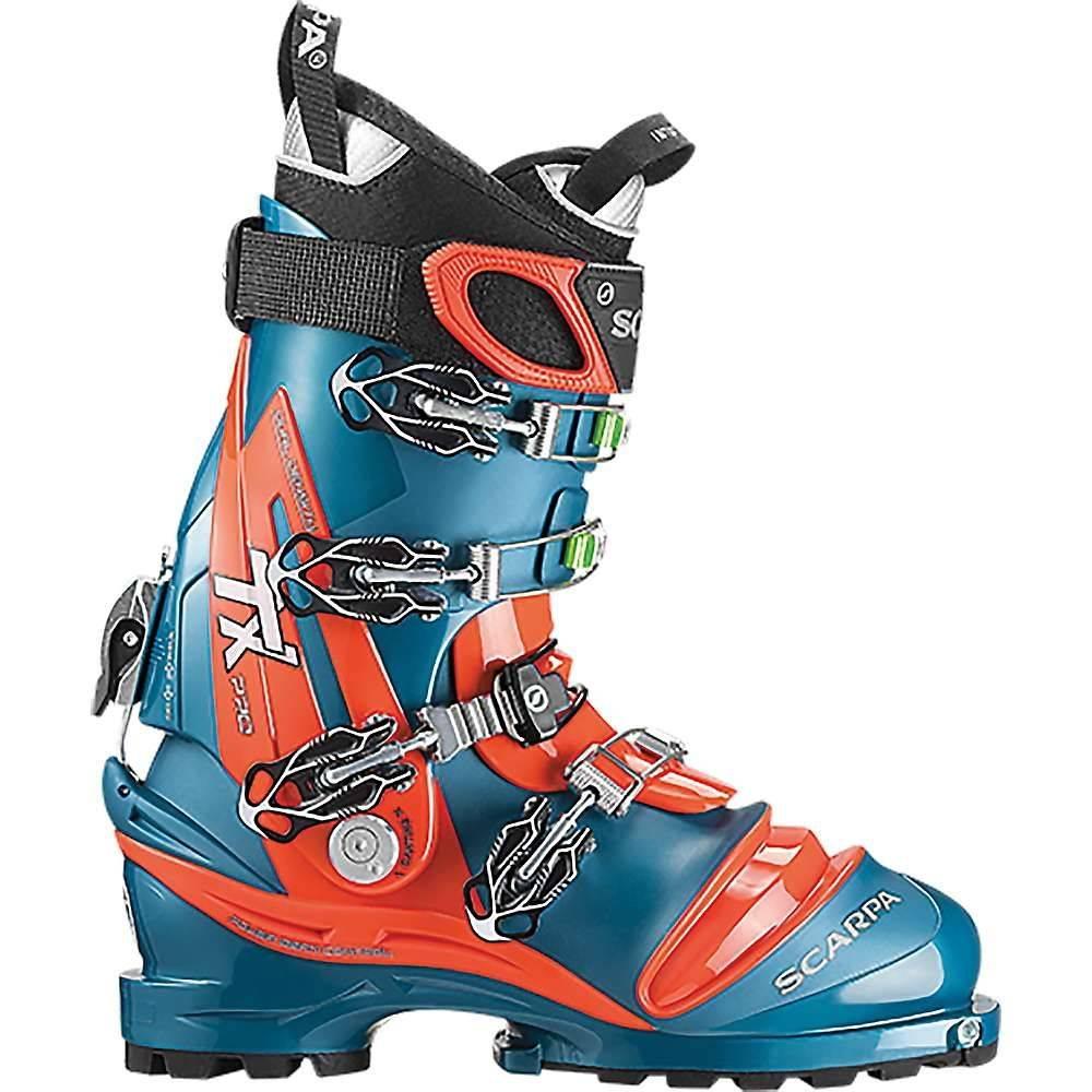 スカルパ Scarpa メンズ スキー・スノーボード シューズ・靴【TX Pro Boot】Lyons Blue / Red Orange