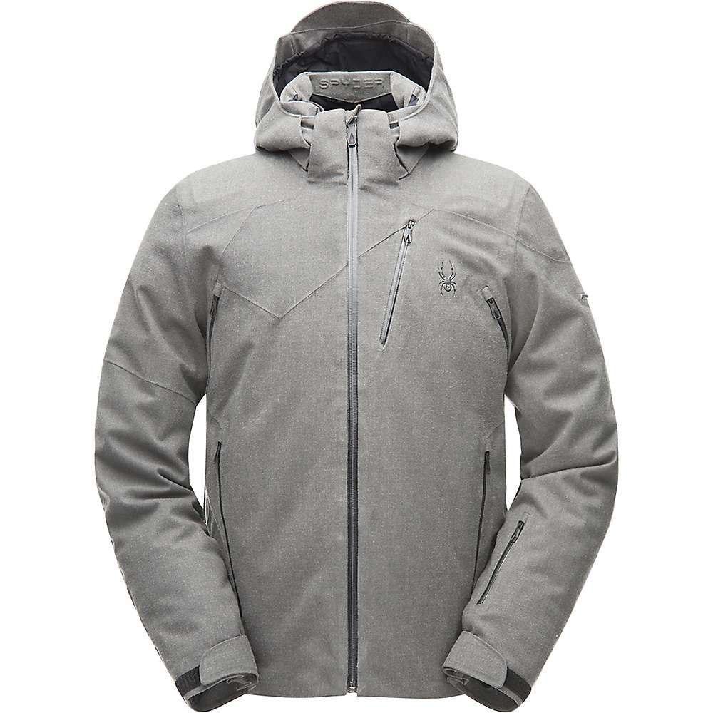 スパイダー Spyder メンズ スキー・スノーボード アウター【Alyeska Jacket】Wool Blend Twill / Black