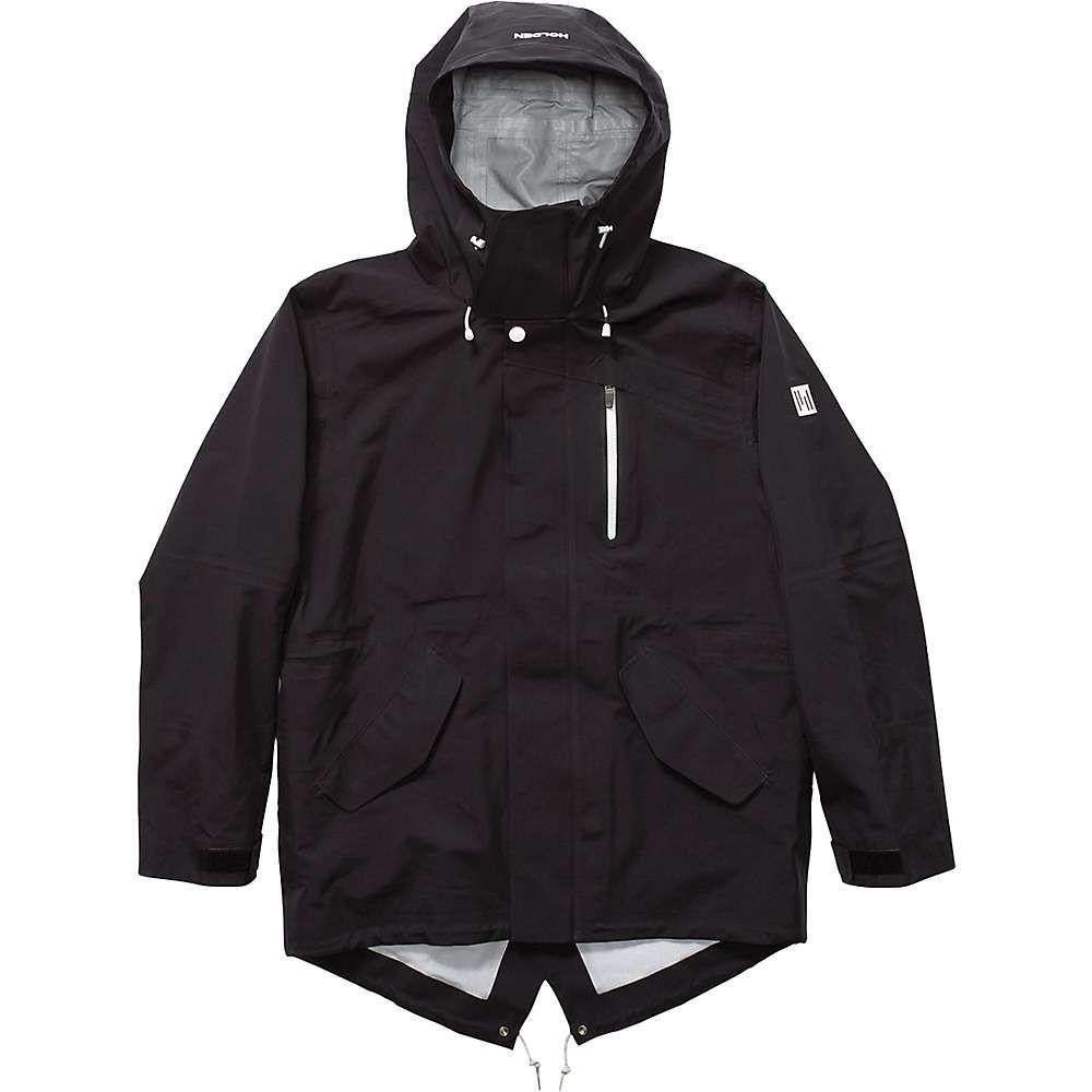 ホールデン Holden メンズ スキー・スノーボード アウター【M-51 3-Layer Fishtail Jacket】Black