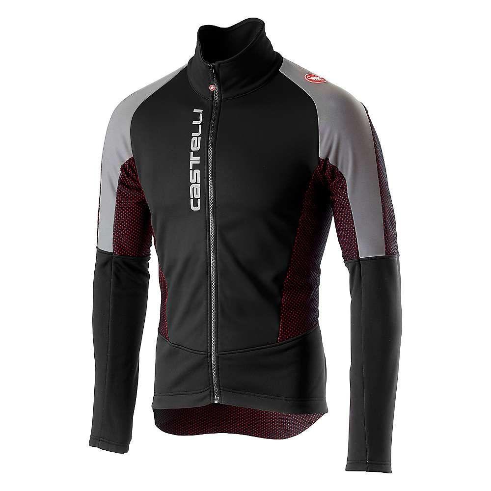 カステリ Castelli メンズ 自転車 アウター【Mortirolo V Reflex Jacket】Black