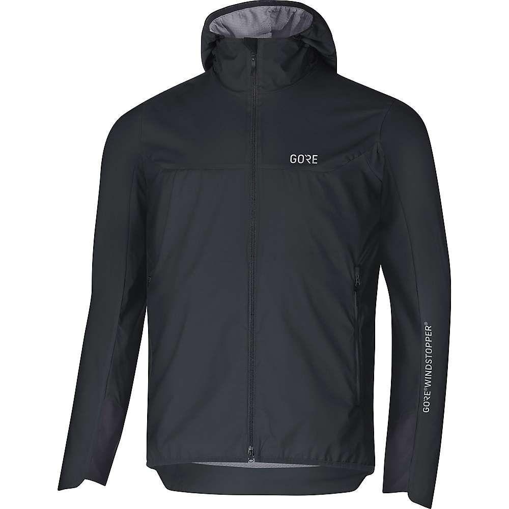 ゴアウェア Gore Wear メンズ アウター ジャケット【H5 Gore Windstopper Insulated Hooded Jacket】Black / Terra Grey