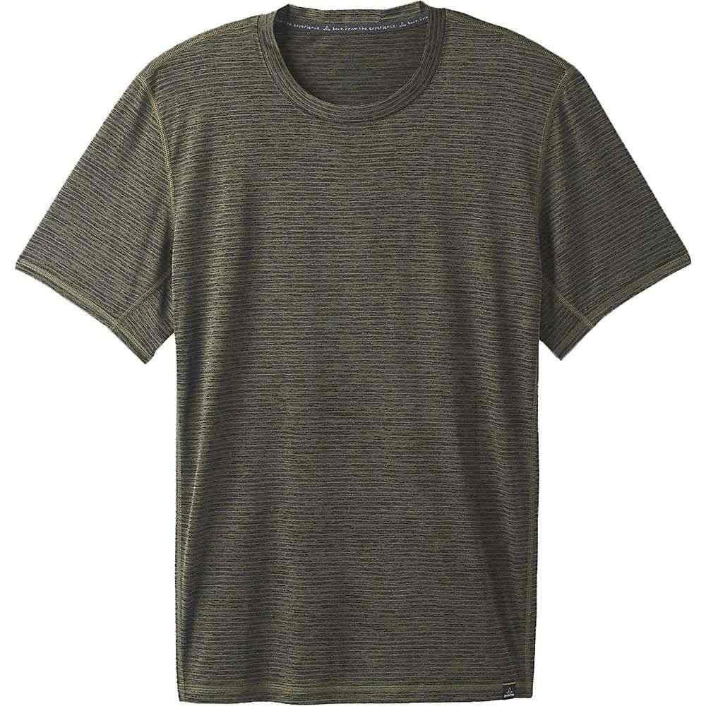 プラーナ Prana メンズ ヨガ・ピラティス トップス【Hardesty SS Shirt】Cargo Stripe
