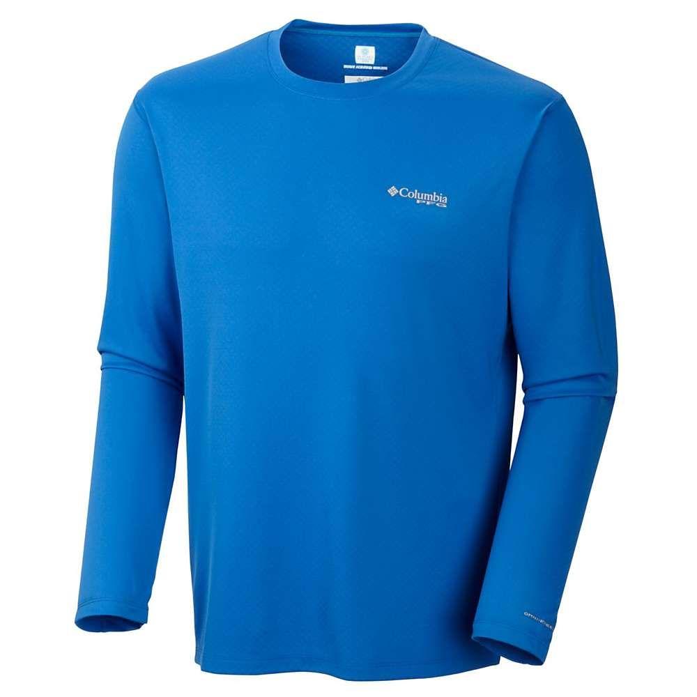 コロンビア Columbia メンズ 釣り・フィッシング トップス【PFG Zero Rules LS Shirt】Vivid Blue