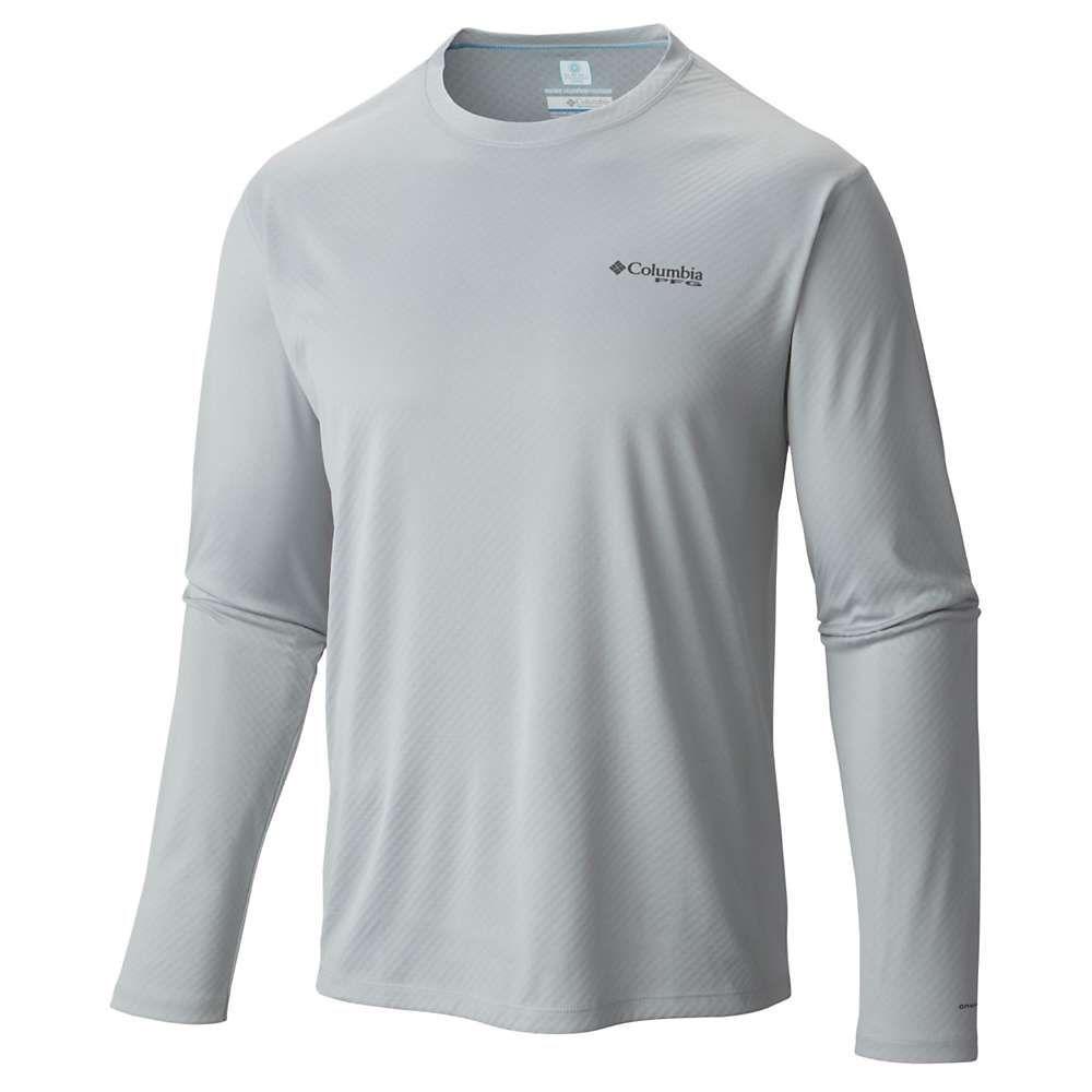 コロンビア Columbia メンズ 釣り・フィッシング トップス【PFG Zero Rules LS Shirt】Cool Grey