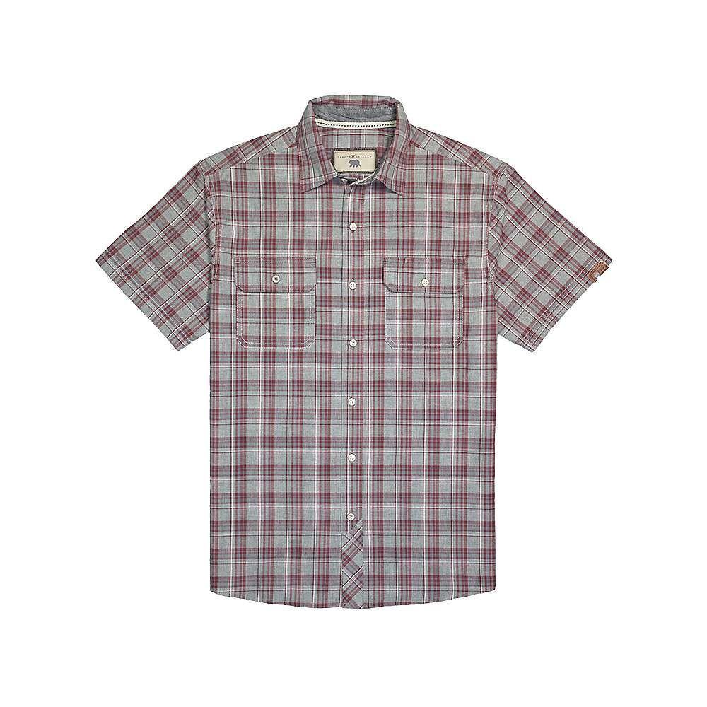 ダコタ グリズリー Dakota Grizzly メンズ トップス 半袖シャツ【Helders Shirt】Redwood