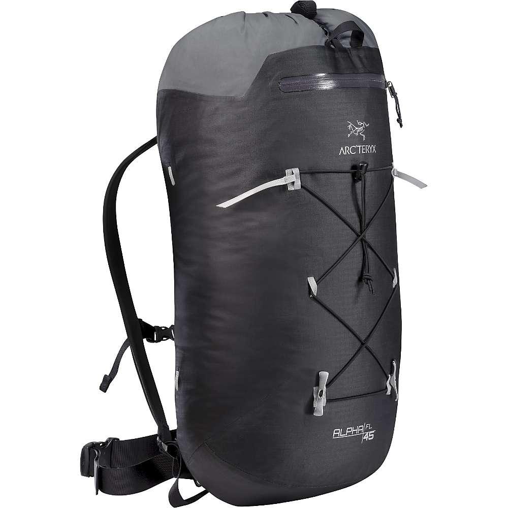アークテリクス FL メンズ 45 クライミング バッグ【Arcteryx Alpha FL 45 Backpack】Black Backpack】Black, キホウチョウ:67b4ae5e --- kutter.pl