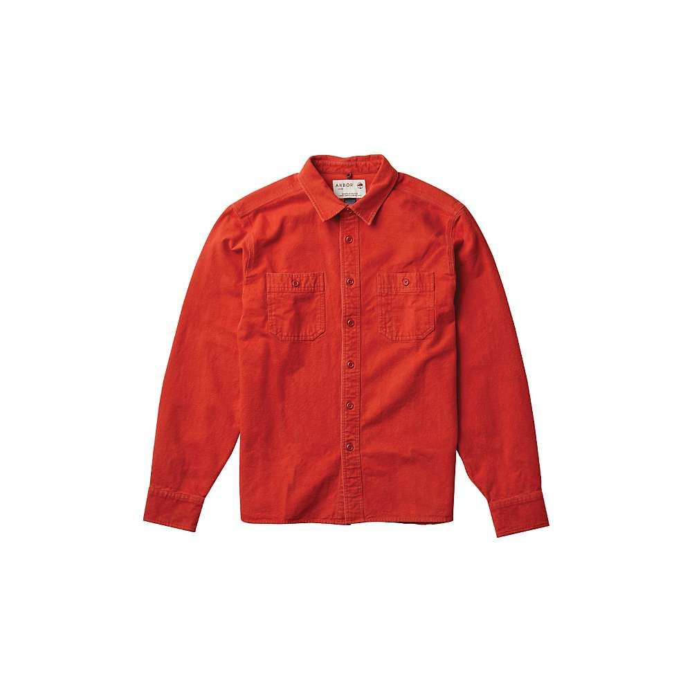 アーバー Arbor メンズ ハイキング・登山 トップス【Foundation Chamois Shirt】Rust