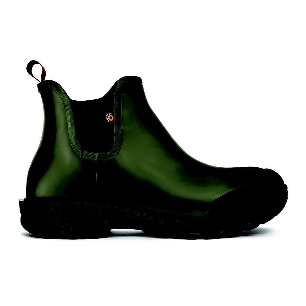 ボグス Bogs メンズ シューズ・靴 レインシューズ・長靴【Sauvie Slip On Boot】Dark Green