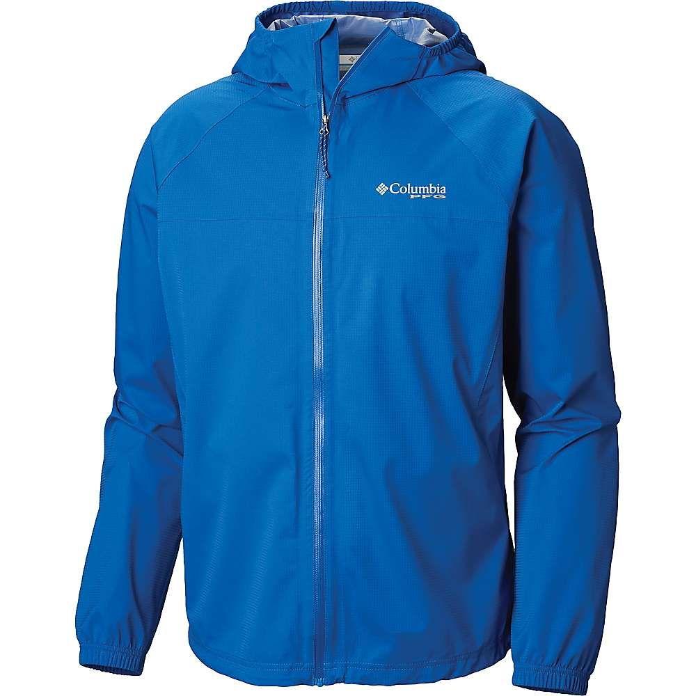 コロンビア Columbia メンズ 釣り・フィッシング アウター【Tamiami Hurricane Jacket】Vivid Blue