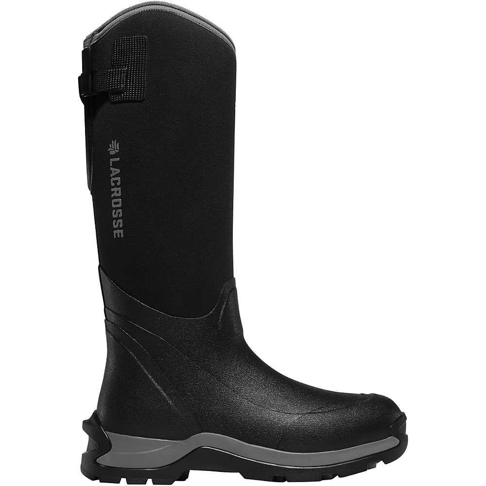 ラクロッセ Lacrosse メンズ シューズ・靴 レインシューズ・長靴【Alpha Thermal 16IN 7.0mm Neoprene Boot】Black