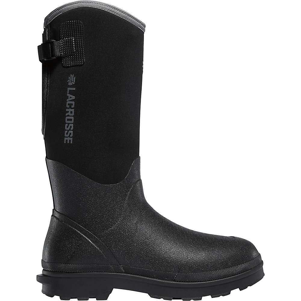 ラクロッセ Lacrosse メンズ シューズ・靴 レインシューズ・長靴【Alpha Range 14IN 5mm Neoprene NMT Boot】Black