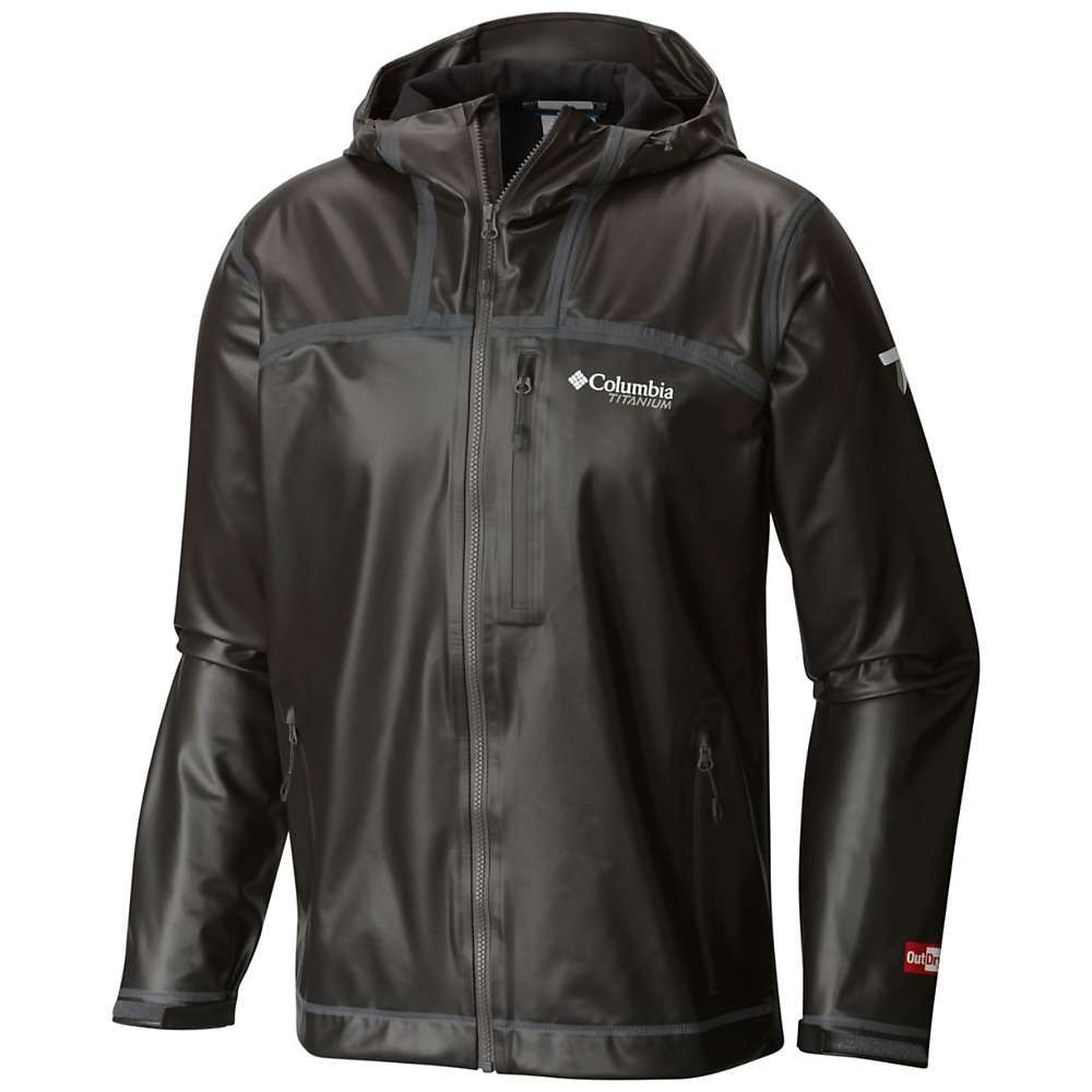 コロンビア Columbia メンズ アウター ジャケット【Titanium OutDry Ex Stretch Hooded Shell Jacket】Black