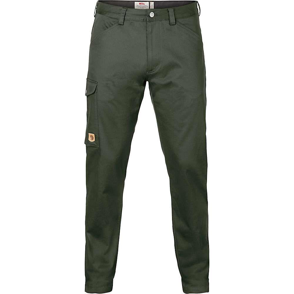 フェールラーベン Fjallraven メンズ ボトムス・パンツ【Greenland Stretch Trouser】Deep Forest