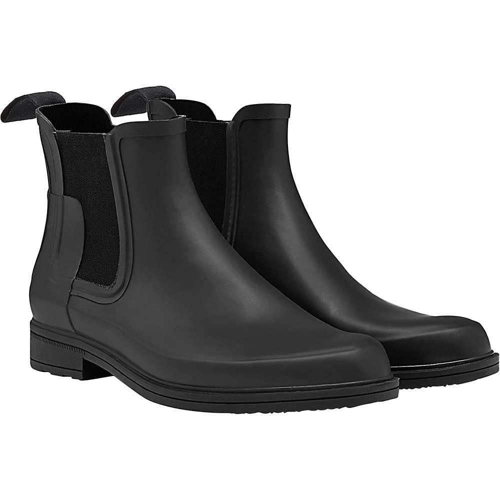 ハンター Hunter メンズ シューズ・靴 レインシューズ・長靴【Original Refined Chelsea Boot】Black