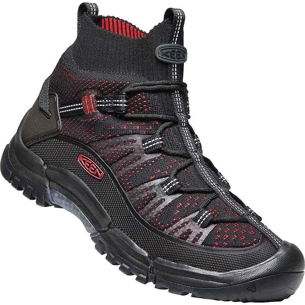 キーン Keen メンズ ハイキング・登山 シューズ・靴【Targhee EVO Mid Boot】Black / Tango Red