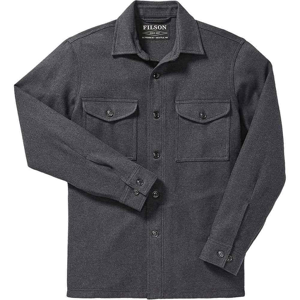 フィルソン Filson メンズ トップス【Deer Island Jac-Shirt】Navy Heather