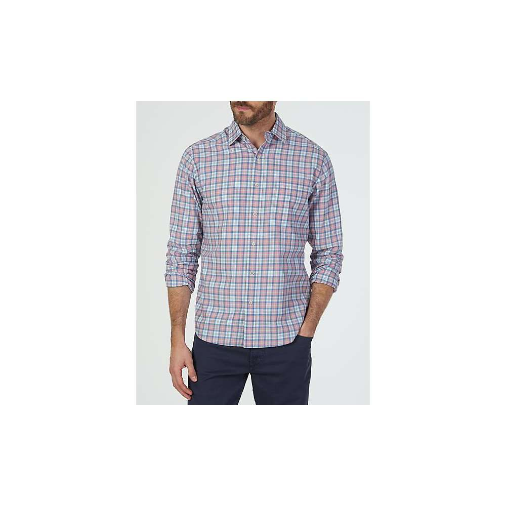 ファレティ Faherty メンズ ハイキング・登山 トップス【Ventura Shirt】Rose Indigo Check
