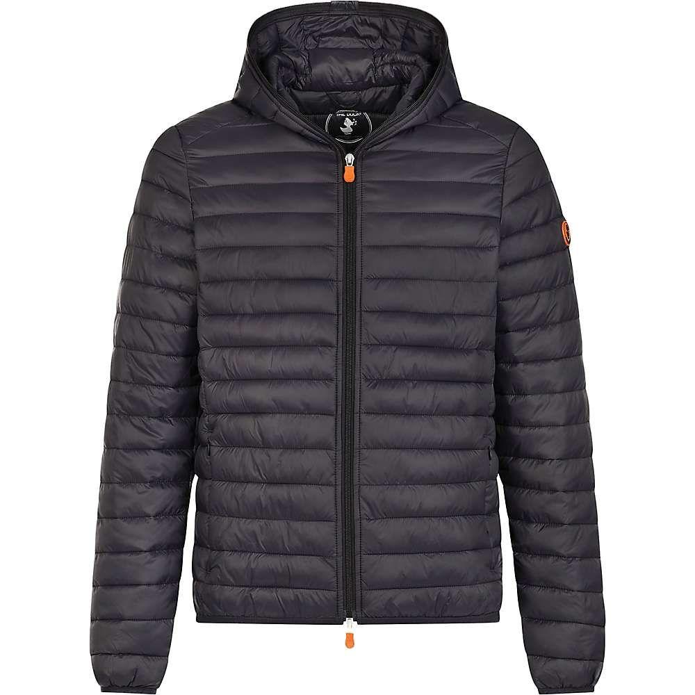 セイブ ザ ダック Save The Duck メンズ アウター ジャケット【Lightweight Insulated Hooded Jacket】Black