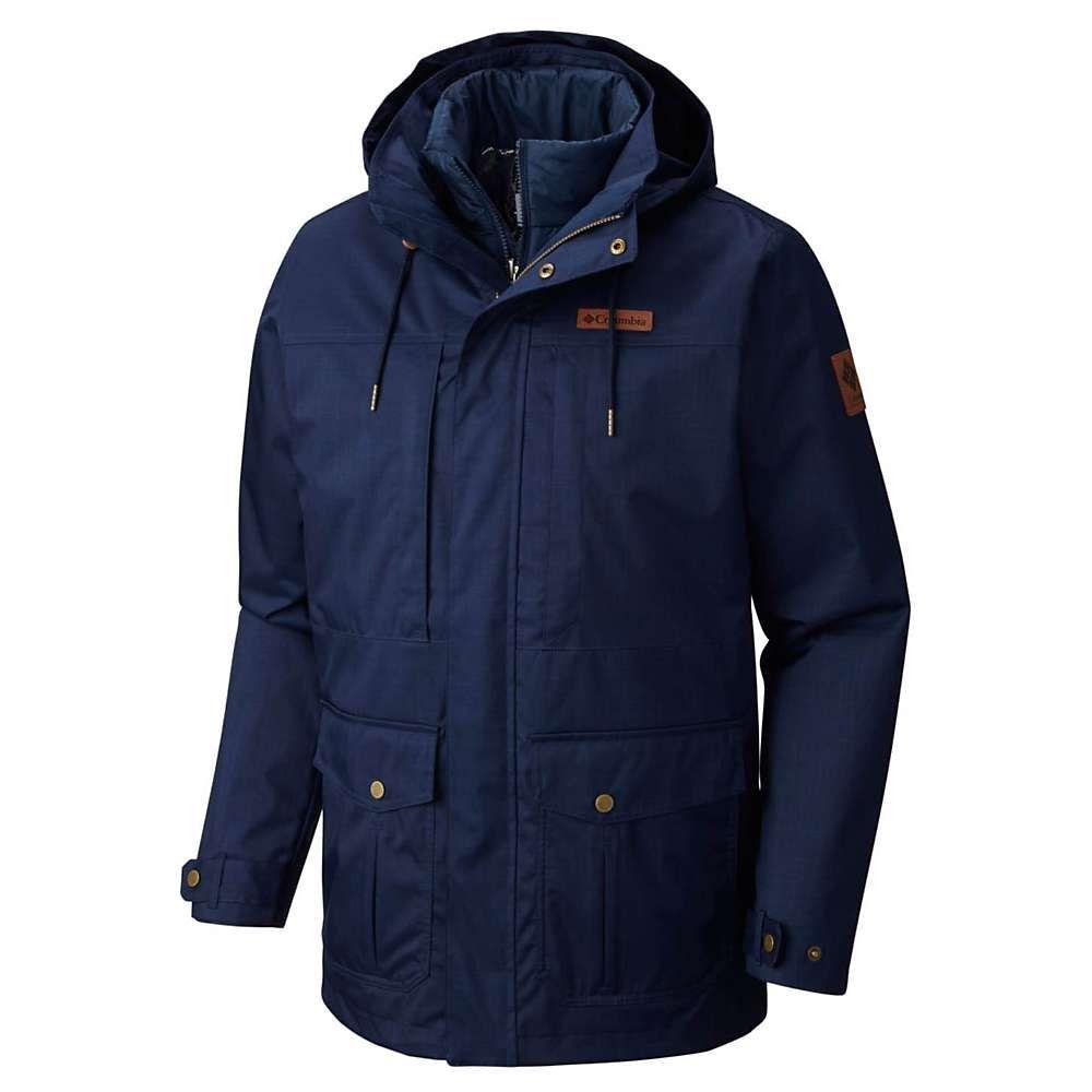 コロンビア Columbia メンズ アウター ジャケット【Horizons Pine Interchange Jacket】Collegiate Navy
