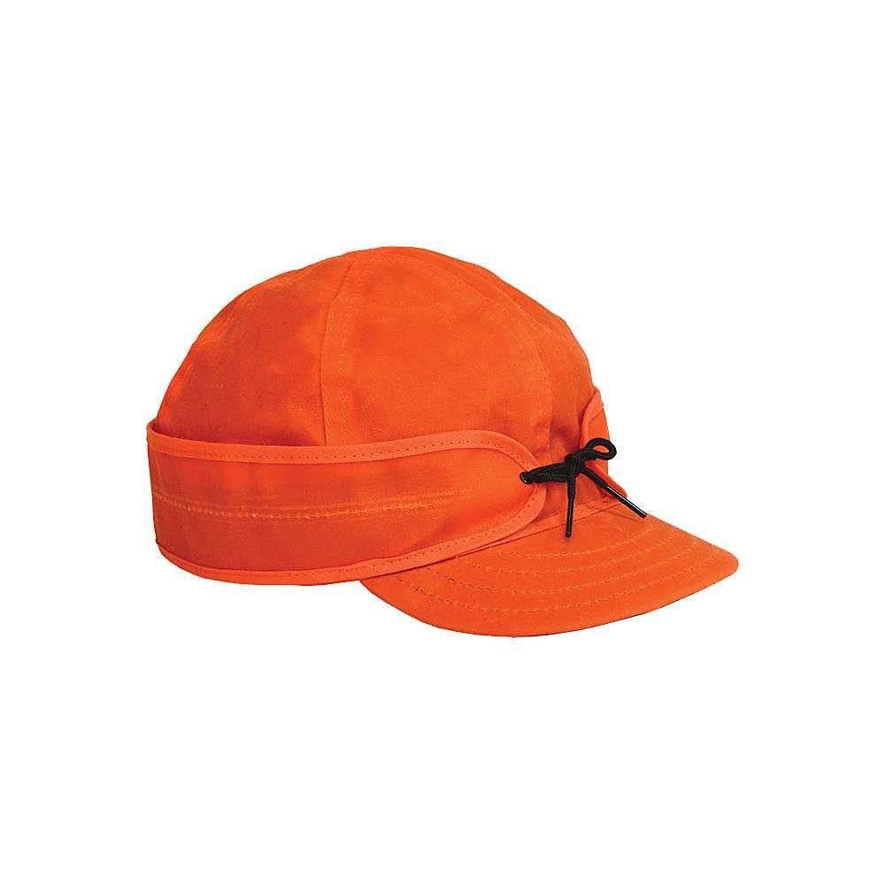 ストーミー クローマー Stormy Kromer ユニセックス 帽子【Waxed Cotton Cap】Blaze Orange