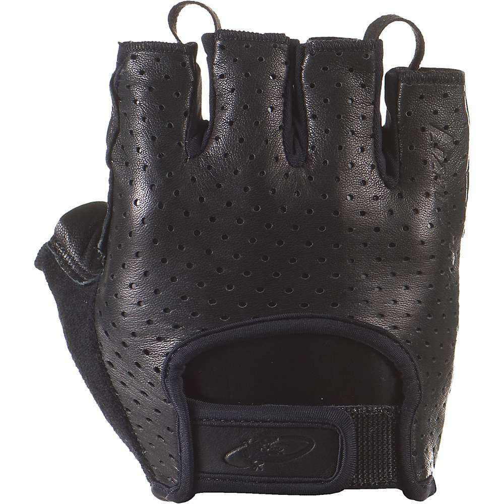 リザード Lizard Skins ユニセックス 自転車 グローブ【Aramus Classic Short Finger Gloves】Jet Black