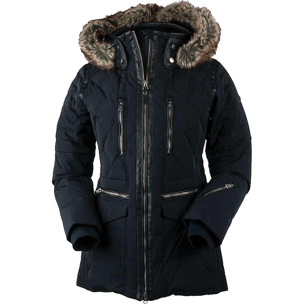 オバマイヤー Obermeyer レディース スキー・スノーボード アウター【Blythe Down Jacket】Black