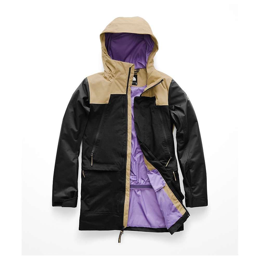 ザ ノースフェイス The North Face レディース スキー・スノーボード アウター【Kras Jacket】Kelp Tan/TNF Black