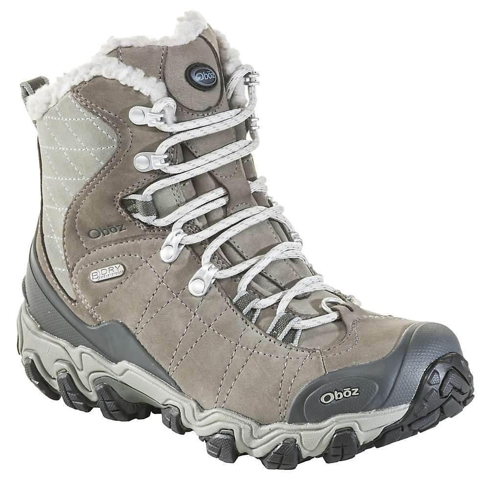 オボズ Oboz レディース シューズ・靴 ブーツ【Bridger 7IN BDry Boot】Gray/Sage