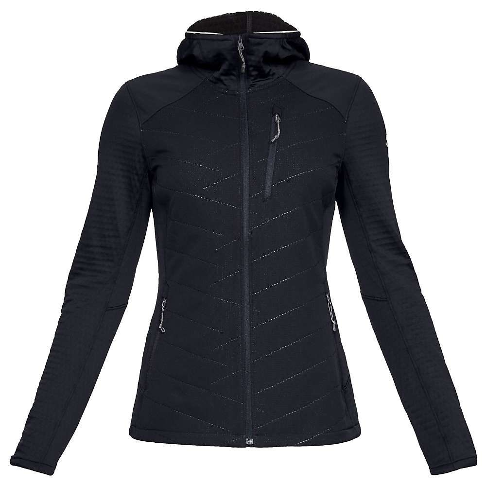 アンダーアーマー Under Armour レディース スキー・スノーボード アウター【ColdGear Reactor Exert Jacket】Black/Black/Ghost Gray