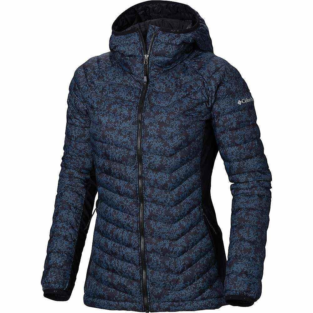 コロンビア Columbia レディース スキー・スノーボード アウター【Powder Pass Hooded Jacket】Black Edelweiss Print