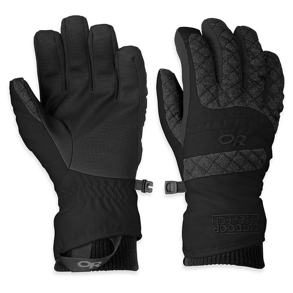 アウトドアリサーチ Outdoor Research レディース スキー・スノーボード グローブ【Riot Gloves】Black