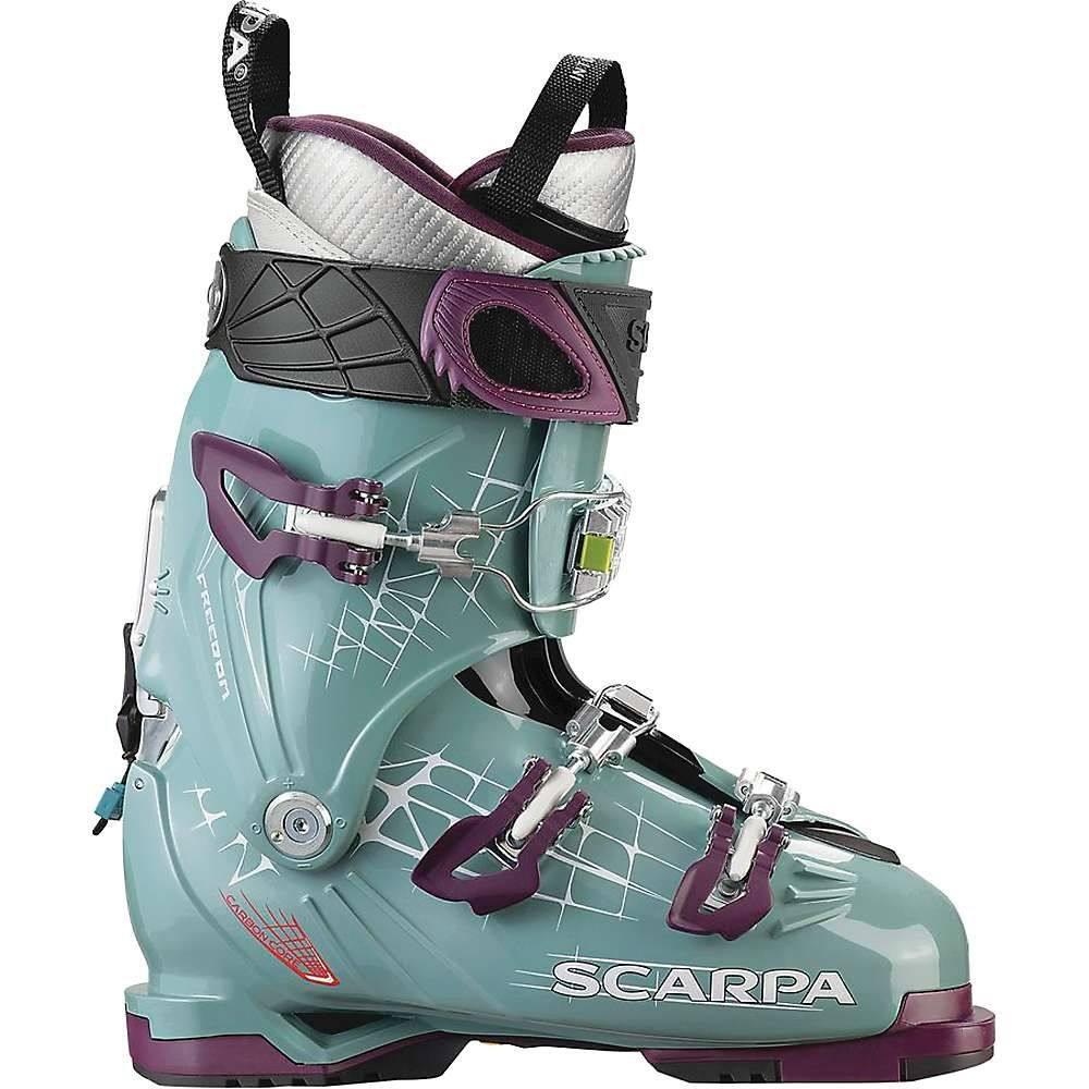 スカルパ Scarpa レディース スキー・スノーボード シューズ・靴【Freedom 100 Boot】Mineral Blue/Purple