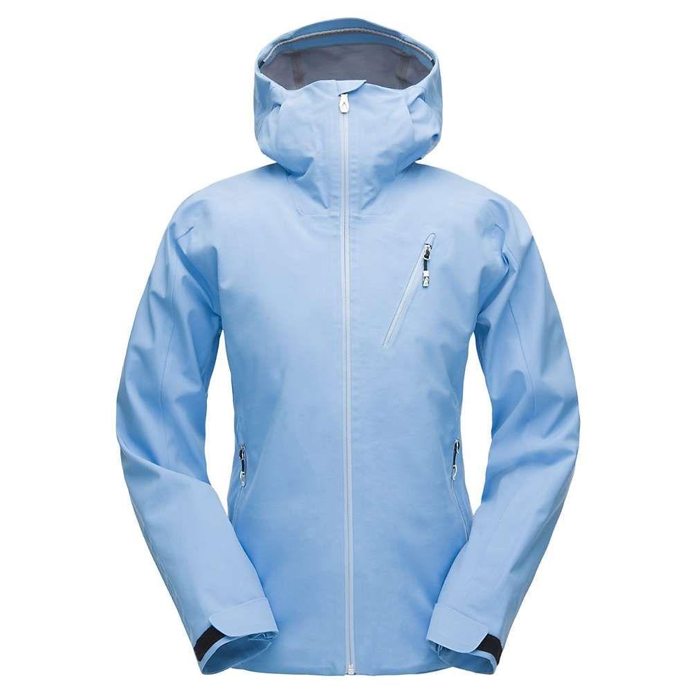 スパイダー Spyder レディース スキー・スノーボード アウター【Jagged Shell Jacket】Blue Ice/Blue Ice
