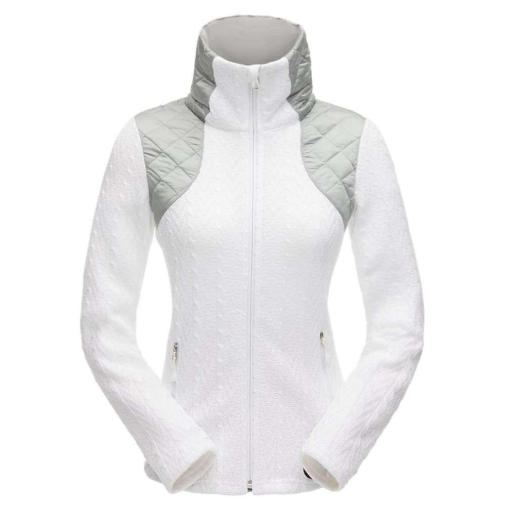 スパイダー Spyder レディース スキー・スノーボード アウター【Lolo Stryke Jacket】White/White/White