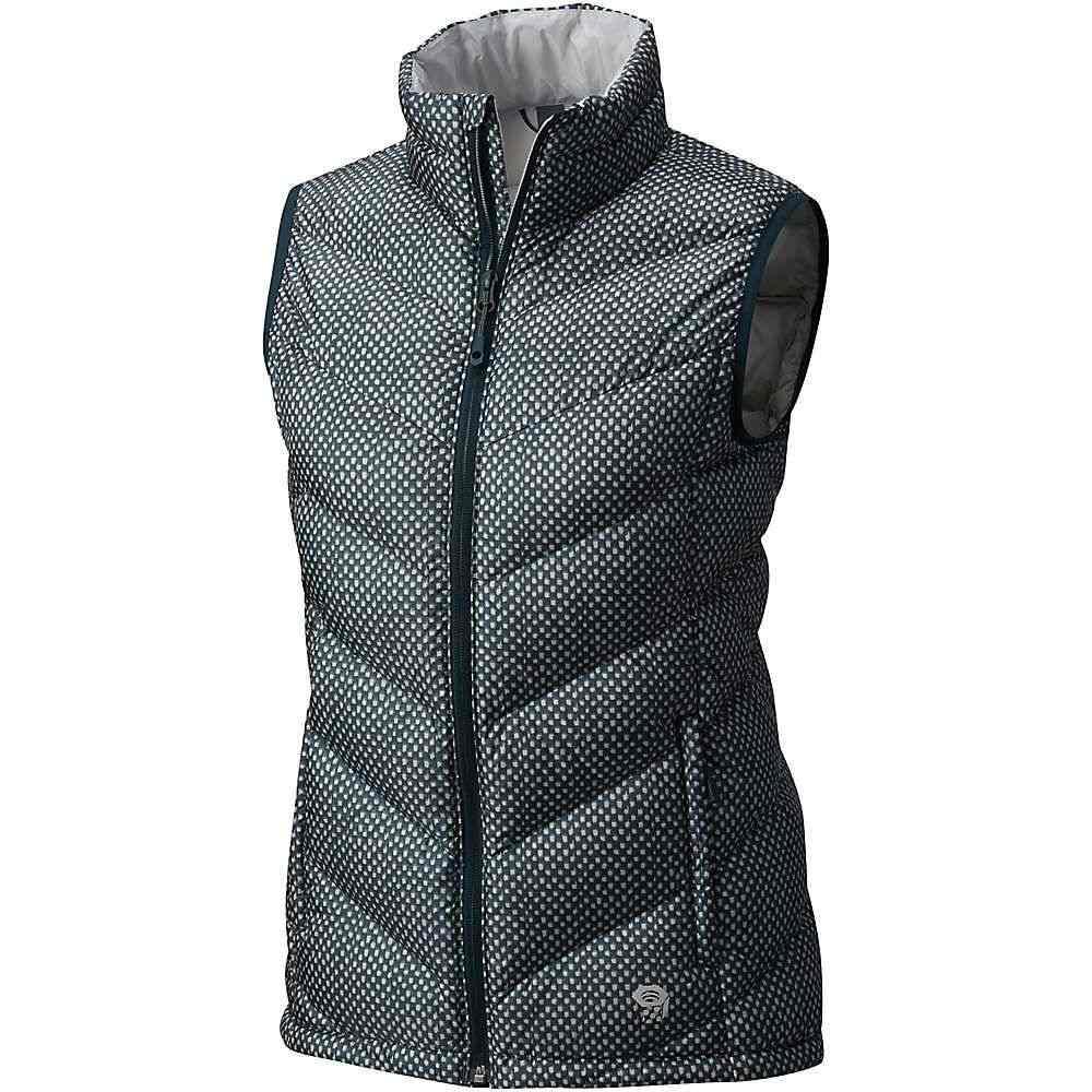 マウンテンハードウェア Mountain Hardwear レディース トップス ベスト・ジレ【Ratio Down Vest】Blue Spruce Print